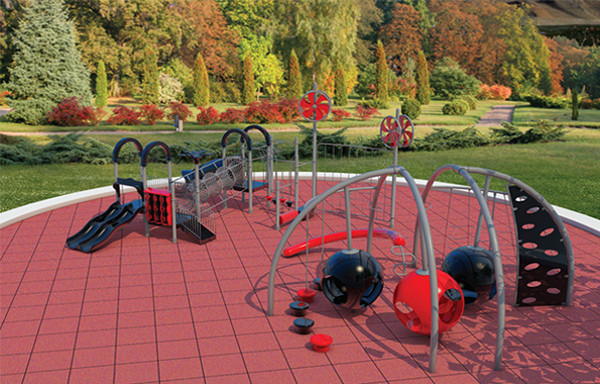 Playgrounds Black Swan, Black Swan Gym Flooring